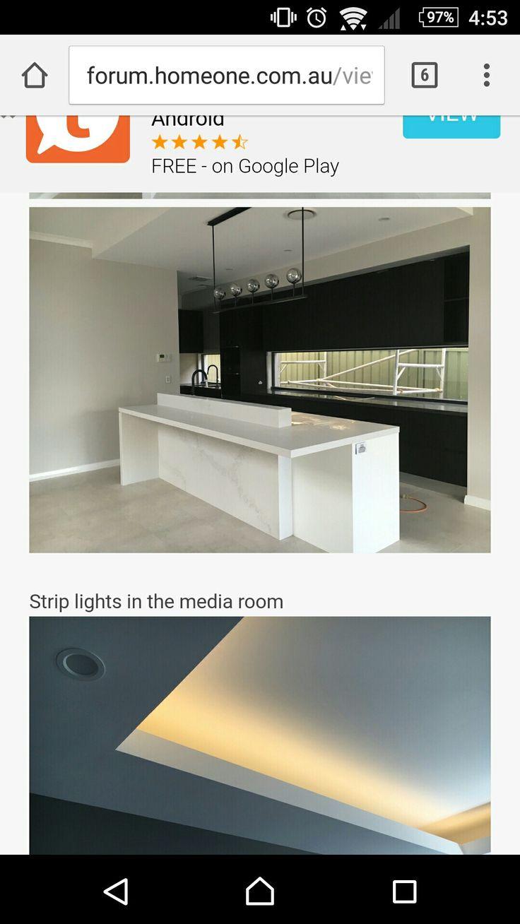 I like the matte black kitchen cabinets