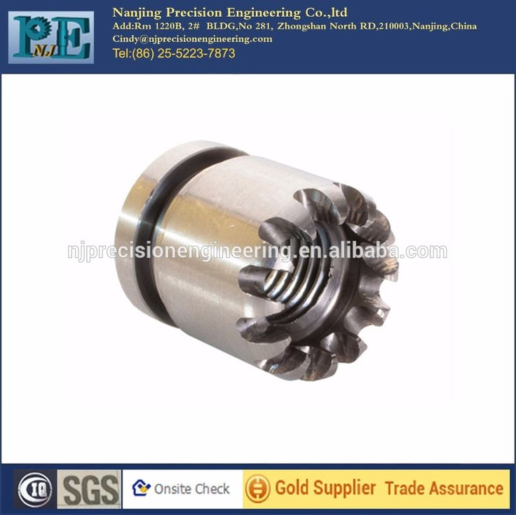 Custom high precision stainless steel lathe parts