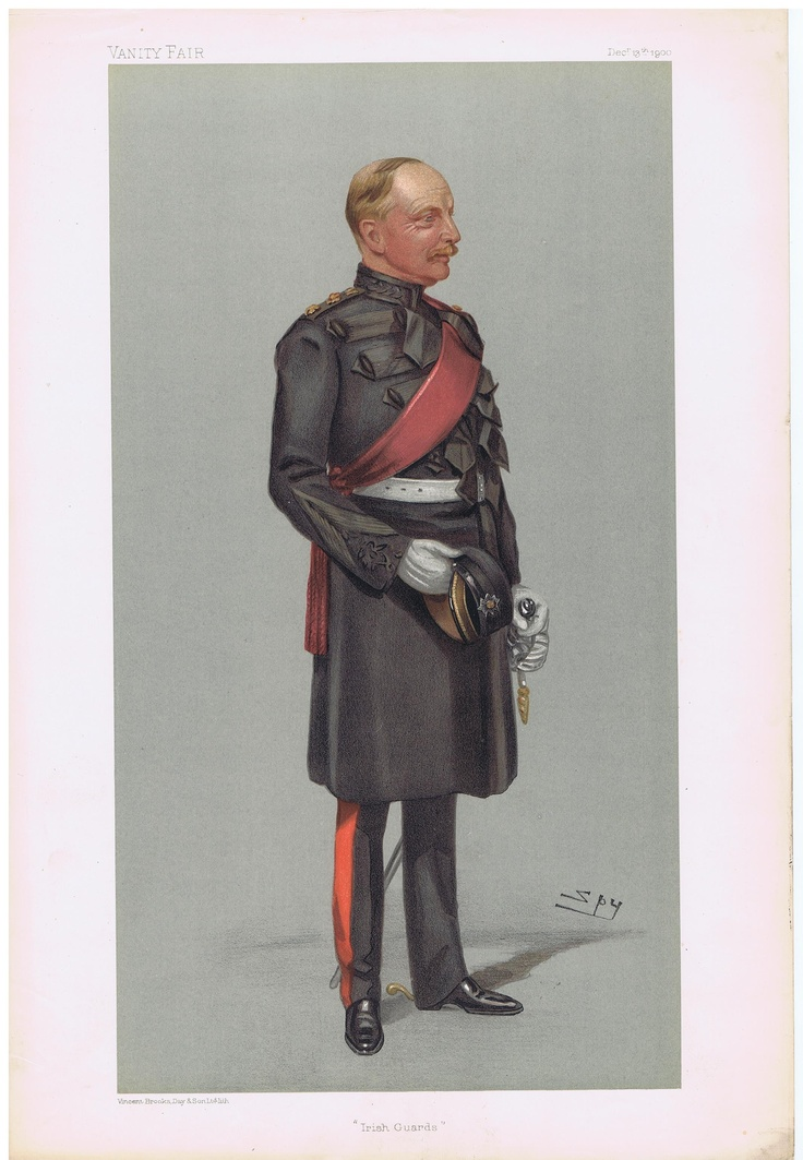 Date 13 Dec 1900 The Vanity Fair Caricature Of Colonel Vesey Dawson With The Caption Of Irish