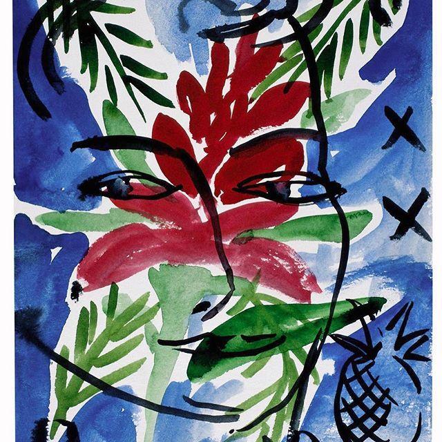 #stefanszczesny #eva#watercolor #art#modernart #contemporaryart #paper #artist#1995 #stlucia #aquarelle
