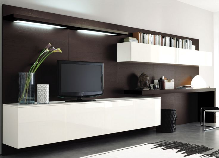 oltre 1000 idee su lowboard h ngend su pinterest tv wand. Black Bedroom Furniture Sets. Home Design Ideas