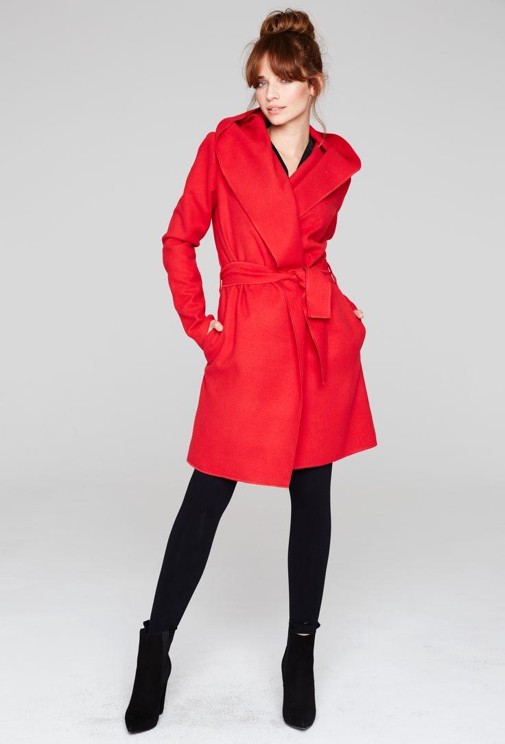 #coat #sport #red