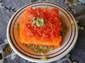 Arabic Food Recipes: Knafeh