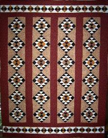 Inca: Patchalot Pattern M, Patchalot Patterns M, Inca Pattern, Gold Pattern