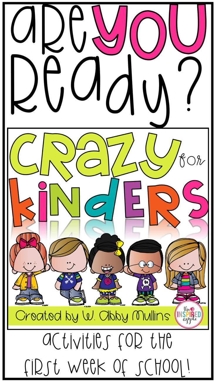 Are you ready for the first week of kindergarten?! This back to school pack is FULL of activities and ideas for making the beginning of the year a smashing success! Kid-tested and teacher approved :)