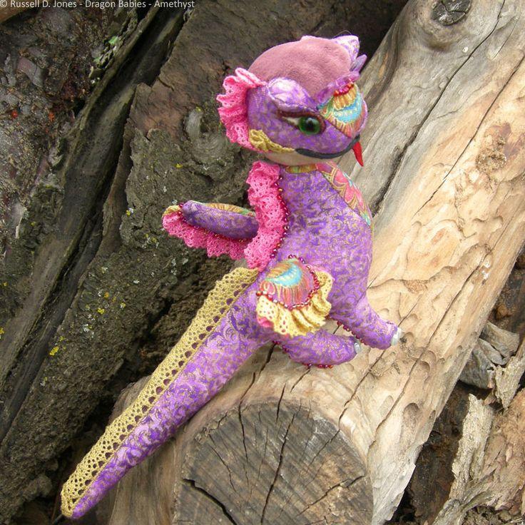 Amethyst Baby Dragon (11) by russelldjones on DeviantArt
