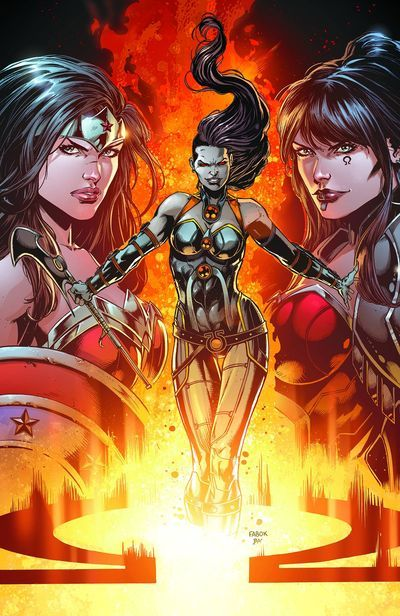 Justice League Darkseid War Special -  The massive 'Darkseid War' epic continues to set the stages for the future of the DC Universe as we reveal the secrets behind its newest major player: Darkseid's daughter, Grail! And if the Justice League is not careful, the spoils of war will all end up with her!