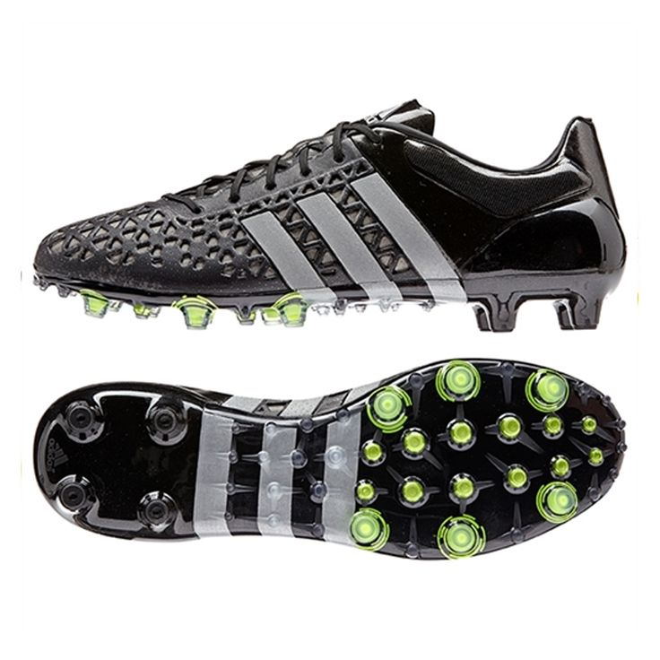 Great new Adidas ACE 15.1 FG/AG soccer cleats with reflective strips.  Control the