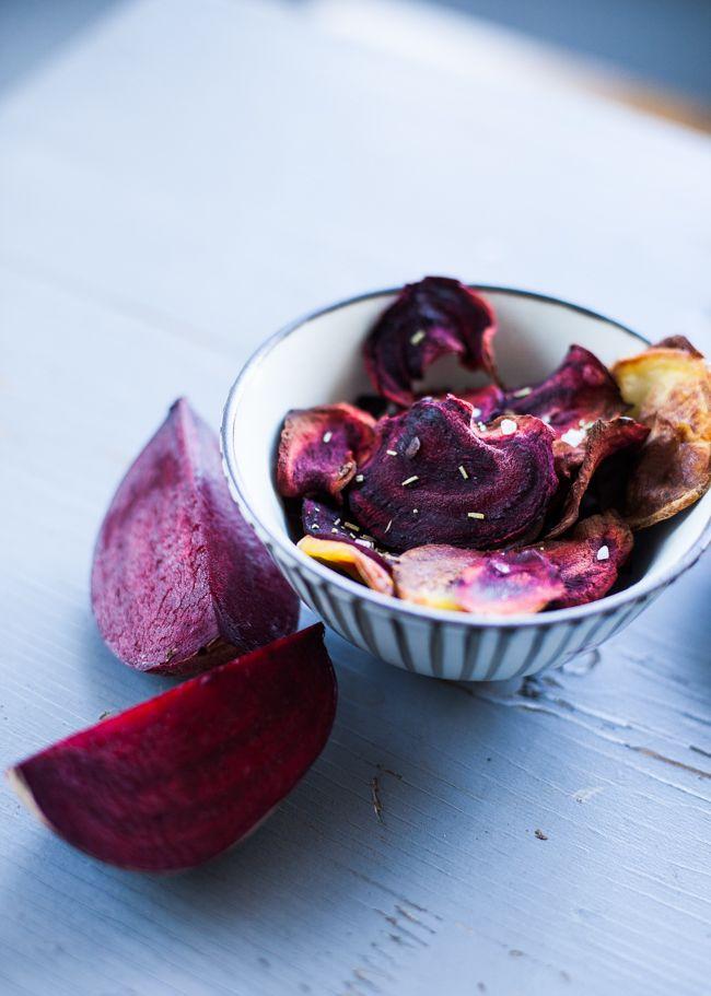 Gesunder Snack für zwischendurch: Rote Bete Chips
