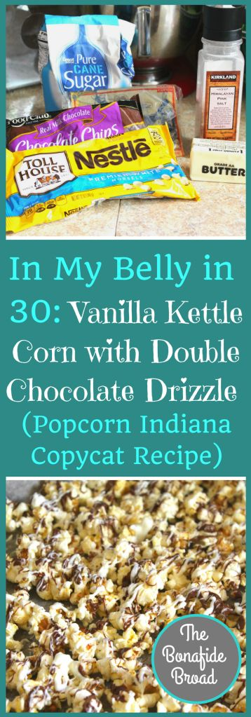 Incredibly delicious and addicting flavored popcorn recipe. Copycat of Popcorn Indiana's Black and White Drizzlecorn...only BETTER!