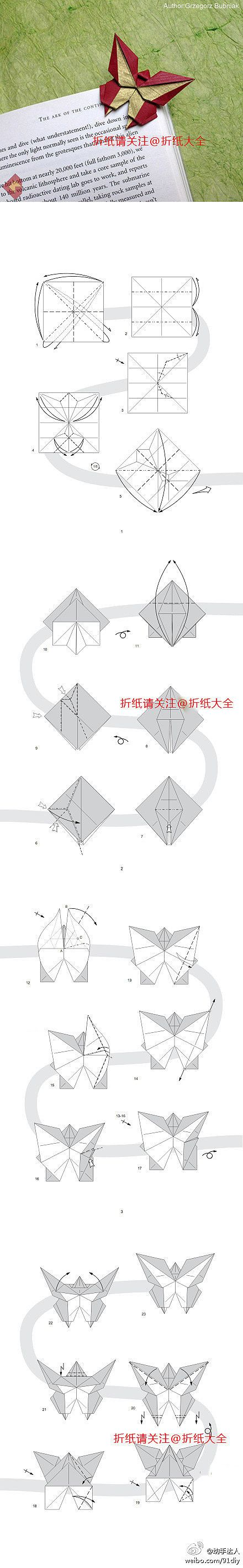 39 Best Emma Images On Pinterest Elves Carnivals And Costume Ideas Origami Butterfly Diagram Bookmark Diagrams Learn How To An Origamilearn Fold This Amazing With Step By