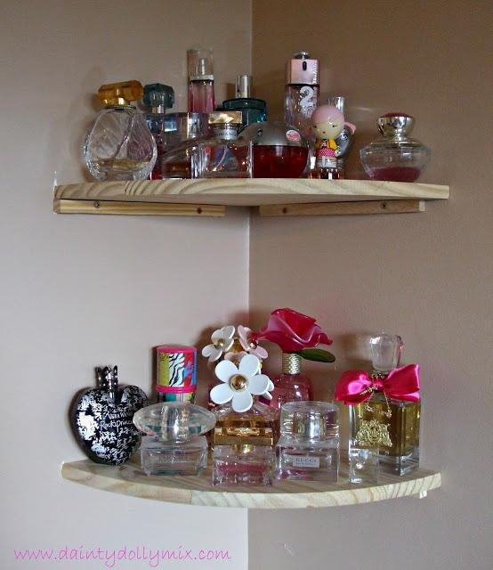 Dainty Dollymix Uk Beauty Blog Perfume Storage