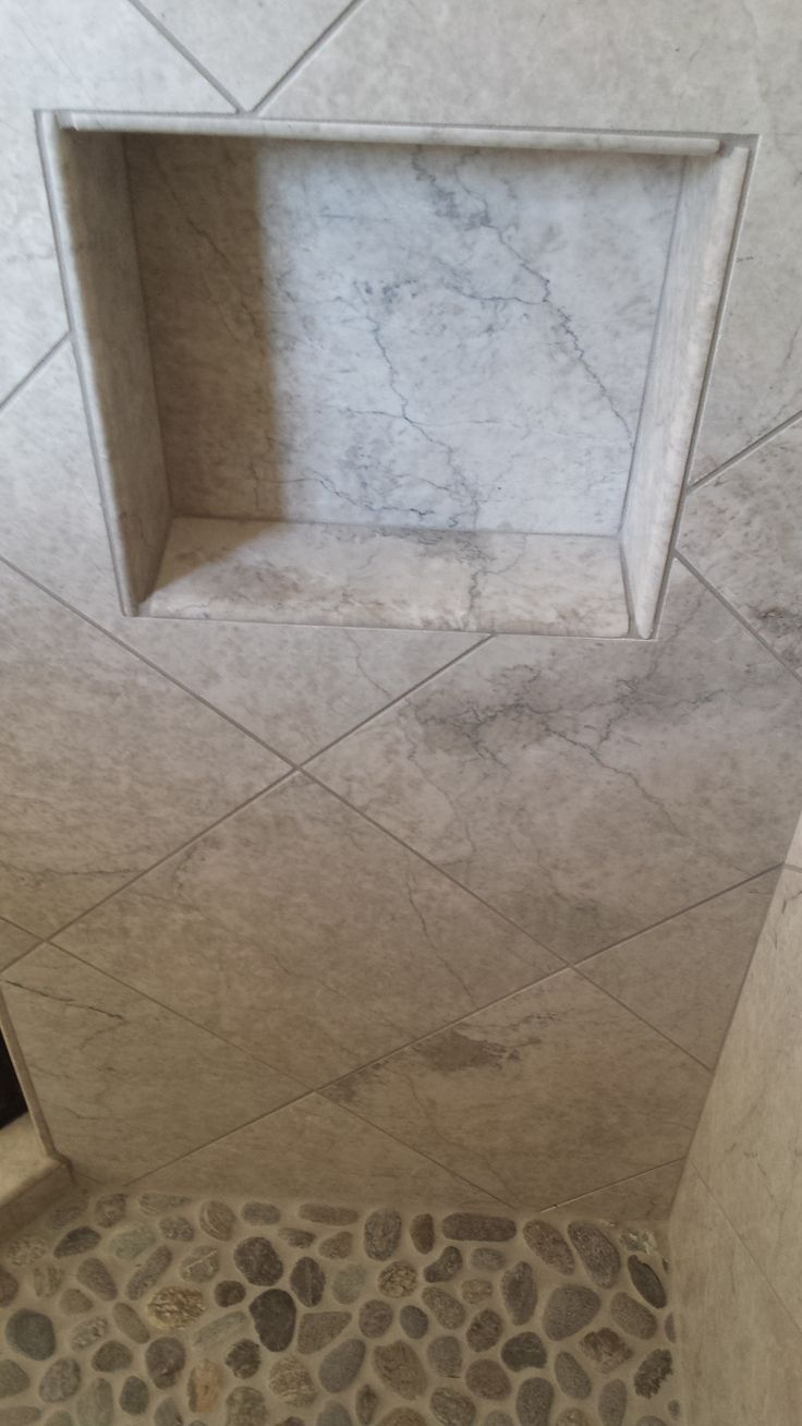 Best Bathroom Tile from B Wallace Homes Images