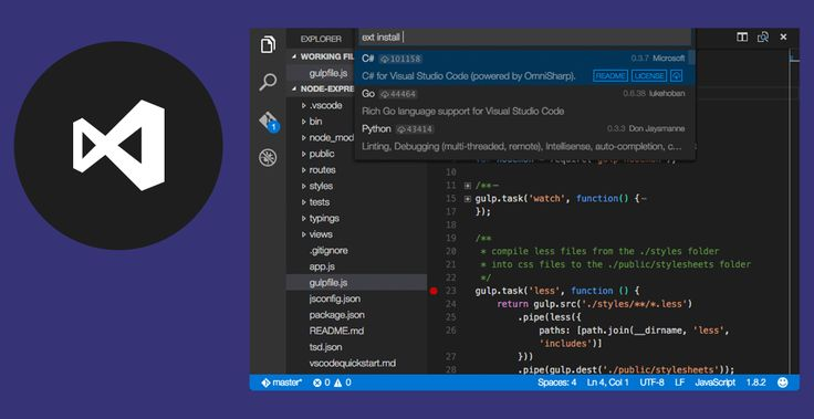 Visual Studio Code is a code editor redefined and optimized for building and debugging modern web and cloud applications.  Visual Studio Code is free and available on your favorite platform - Linux, Mac OSX, and Windows.