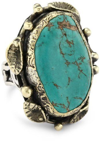 BORA One of a Kind Persian Turquoise Ring, Size 7 BORA. $260.00. Wipe clean with soft dry cloth; Do not use chemicals. Handcrafted 925 Oxidized Sterling Silver with Bronze detailing. Made in Turkey. One of a kind Persian turquoise stone set in a unique design