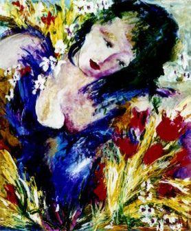 Woman by Dominique Boisjoli