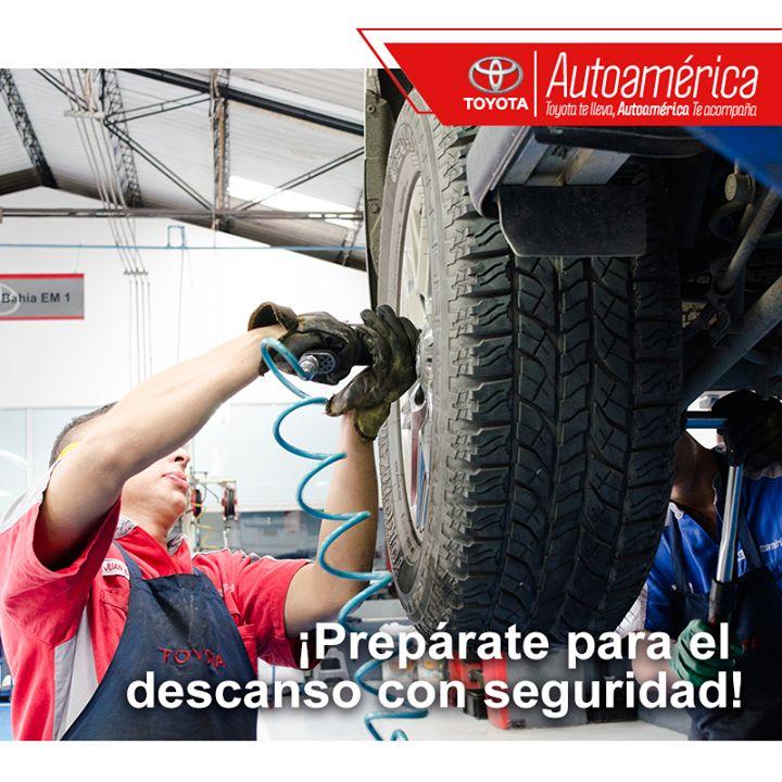¿Vas de viaje durante estos días de descanso? Tu #Toyota puede necesitar un cambio de aceite, una revisión de frenos o un mantenimiento de llantas. Ven a nuestro servicio de mantenimiento preventivo en #AutoaméricaPalacé o #AutoaméricaIndustriales