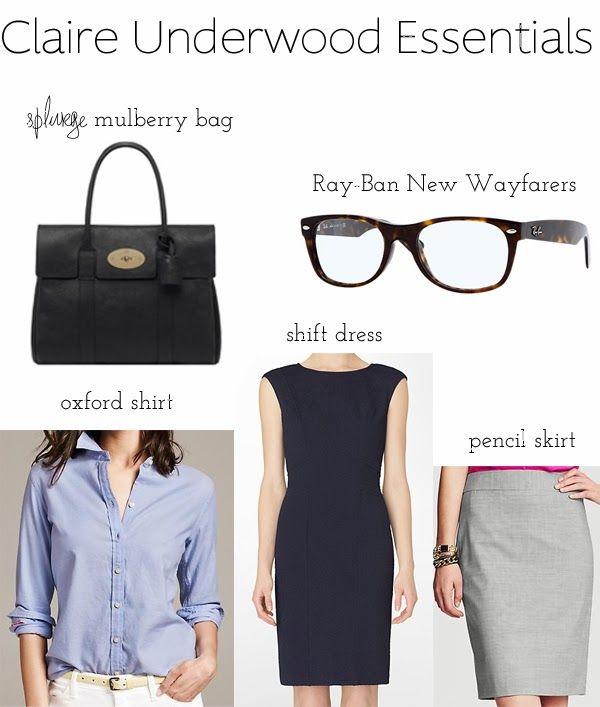 My Style Icon : Claire Underwood