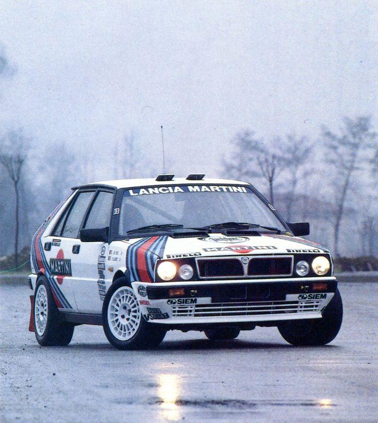 """frenchcurious: """" Lancia Delta HF 4WD (1987) - Automobiles Classiques juin / juillet 1991. """""""