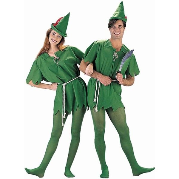 Have high flying adventures through Neverland this Halloween in a fun Peter Pan costume inspired by J.M. Barrie. - Tunic with rope belt - Hat (feather color varies) - Tights - SKU: CA-004547