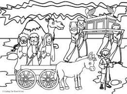 Image result for coloring pages of joshua crossing the ...