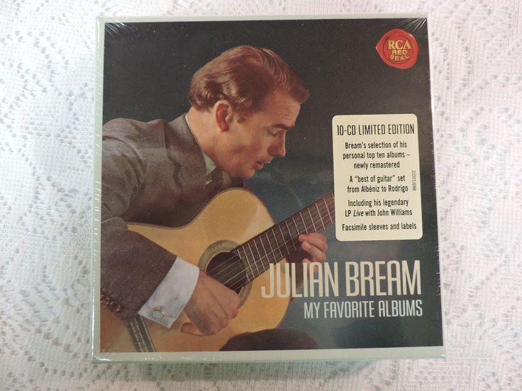 Julian Bream - My Favorite Albums - 10 CD Limited Edition Set - RCA Red Seal NEW #ConcertoEtudeOperaPartitaPreludeQuintetSonataSonataQuartetSuiteSuiteVariationWaltz