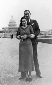 "36th President     Lyndon B. Johnson & Claudia ""Lady Bird"" Taylor     November 17, 1934"