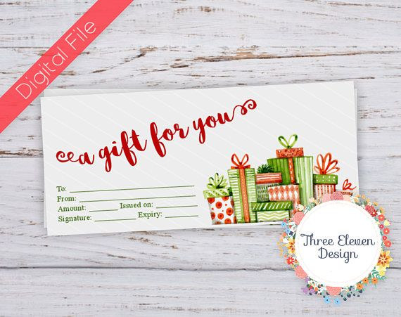 The 25+ best Printable gift certificates ideas on Pinterest Free - make your own gift certificates free