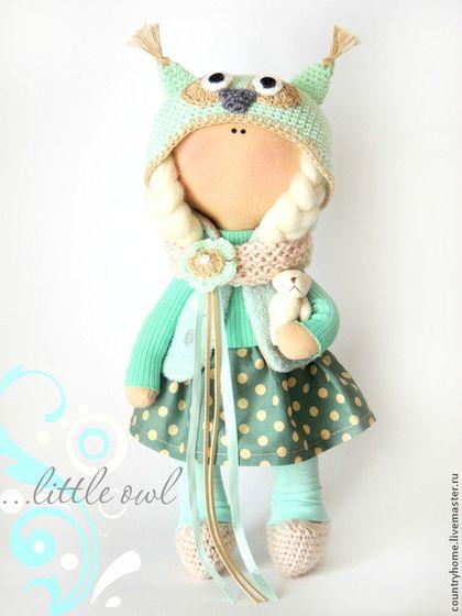Коллекционные куклы ручной работы: Юлочка. Handmade.