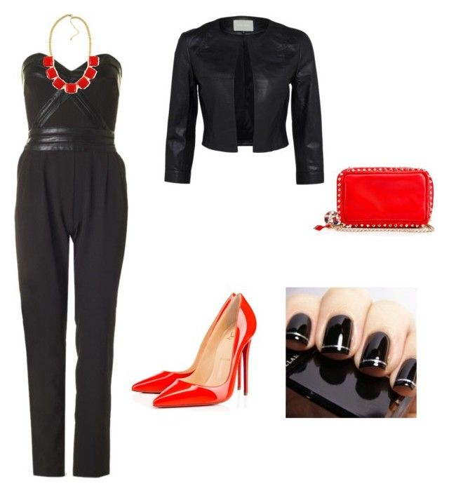Untitled #220 by filomenamaria on Polyvore featuring polyvore fashion style Christian Louboutin clothing