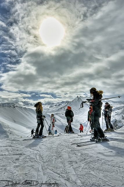 Top of #Tignes / Val D'Isere | Photo by Mike Goldberg | snowzine.com