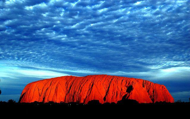 海外旅行世界遺産 エアーズロック(ウルル) ウルル-カタ・ジュタ国立公園の絶景写真画像ランキング  オーストラリア