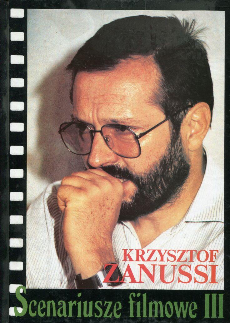 """""""Scenariusze filmowe III"""" Krzysztof Zanussi Cover by Krystyna Töpfer Published by Wydawnictwo Iskry 1992"""