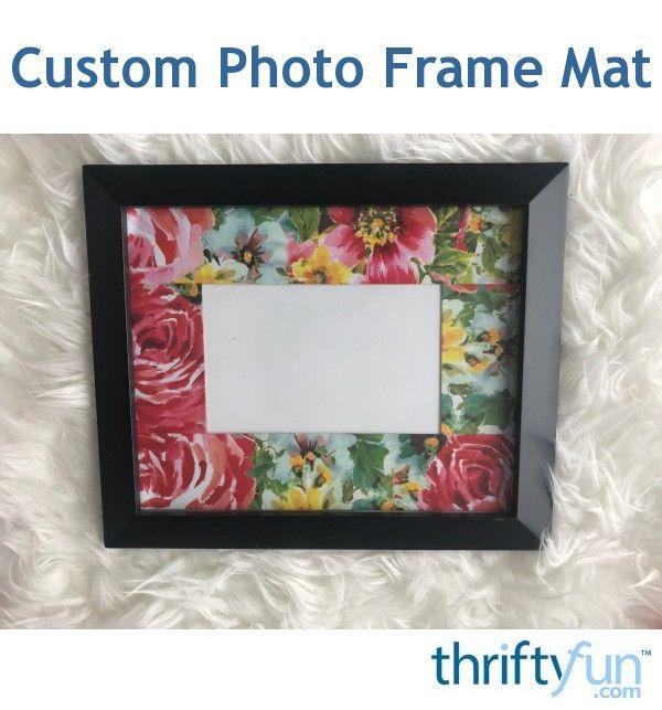 Custom Photo Frame Mat Custom Photo Frames Frame Matting Photo Frame