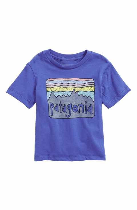 b645d639fca Patagonia Fitz Roy Skies Graphic Organic Cotton T-Shirt (Baby Boys ...
