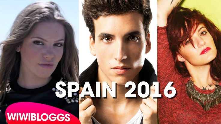 Spain Eurovision 2016 finalists: María Isabel or Xuso Jones to win? | wi...