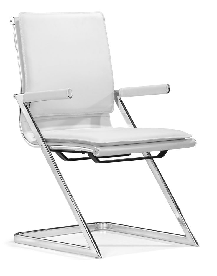 Zuo Lider Plus Conference Chair White (set of 2)