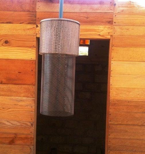 HHV. Lámpara de techo (filtros de aire maquinaria pesada).