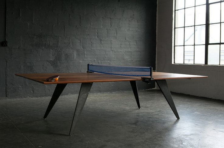 50 Ping Pong (Table Tennis) Table Designs https://www.futuristarchitecture.com/14248-ping-pong-table.html