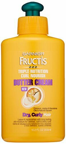 Fructis Triple Nourish Butter Cream  - keeps my frizzy, wavy hair looking smooth and smelling yummy when I air dry.
