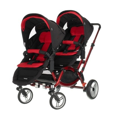 Bebecar One & Two Tandem Pushchair - Double Buggy
