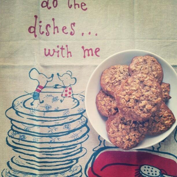 oatmeal cookies via 101cookbooks