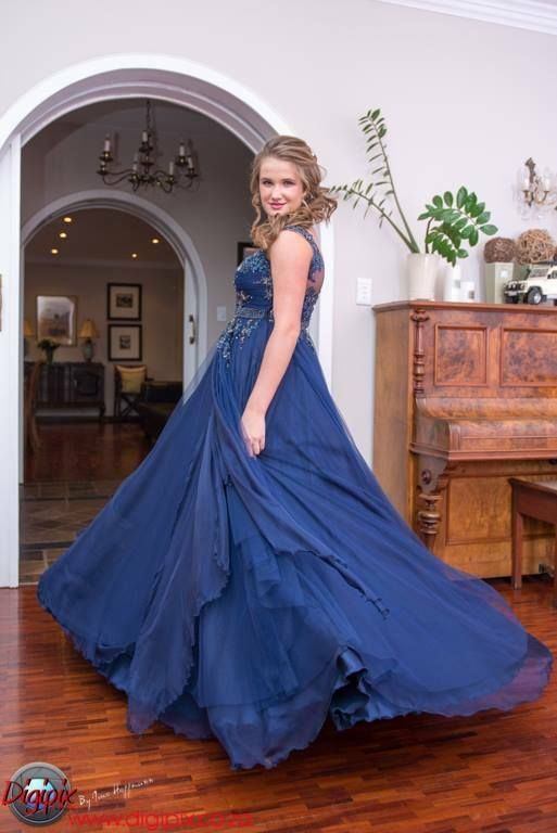 Alexis's matric dance dress