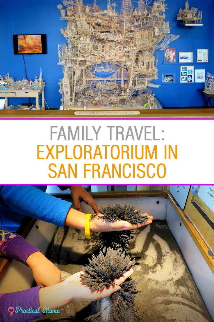 Exploratorium, San Francisco: Hands down, one of the best science museums for kids. Must see if you are traveling to San Francisco with children.