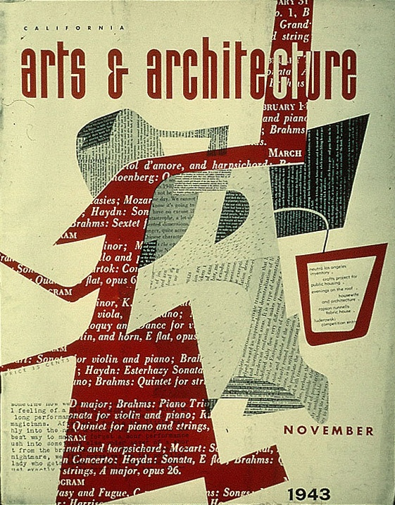 arts and architecture magazine covers by ray eames graphics retro vintage pinterest. Black Bedroom Furniture Sets. Home Design Ideas