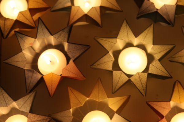 how to make a waldorf star lantern