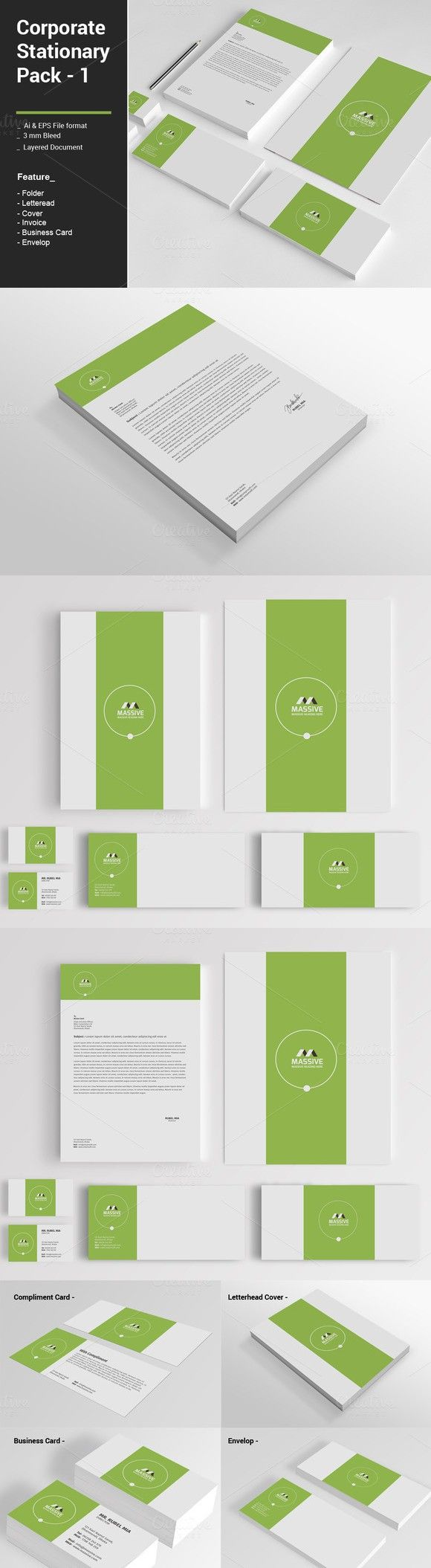 Corporate Stationary Pack -1
