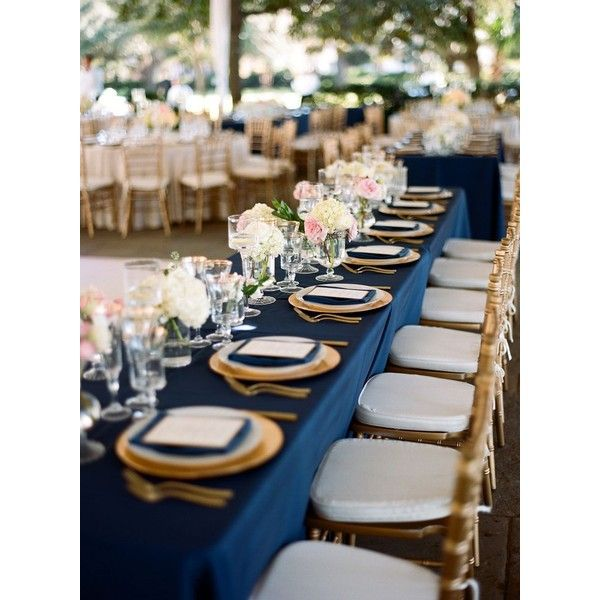 Blue And Gold Wedding Decorations: 17 Best Ideas About Rectangle Table Centerpieces On