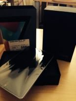 Asus Nexus 7 from Heart Radio prize