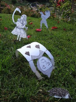 51 best ideas about alice in wonderland balloon ideas on - Alice in wonderland outdoor decorations ...